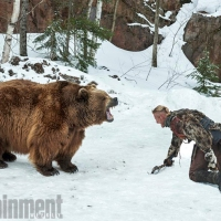 Photos exclusives de Vikings : Bjorn VS l'ours