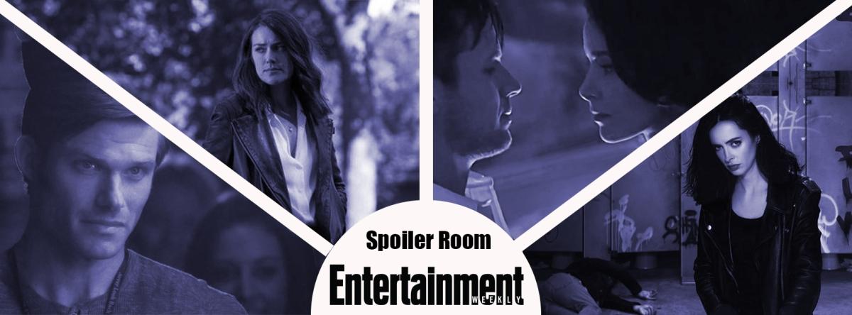 Spoiler Room : des infos sur Jessica Jones, The Blacklist, Timeless et d'autres